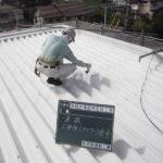 ふっ素樹脂系遮熱塗装